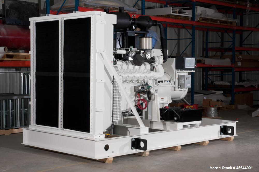 New- Blue Star Power Systems 425 kW Standby Natural Gas Generator Set, SN-A6100