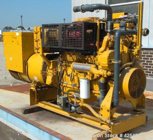 Used- Cat 357 kW Diesel Generator Set. Caterpillar model 3406 DITA engine rated 587 hp @ 1800 rpm, serial #4ZR01326. 3/60/27...