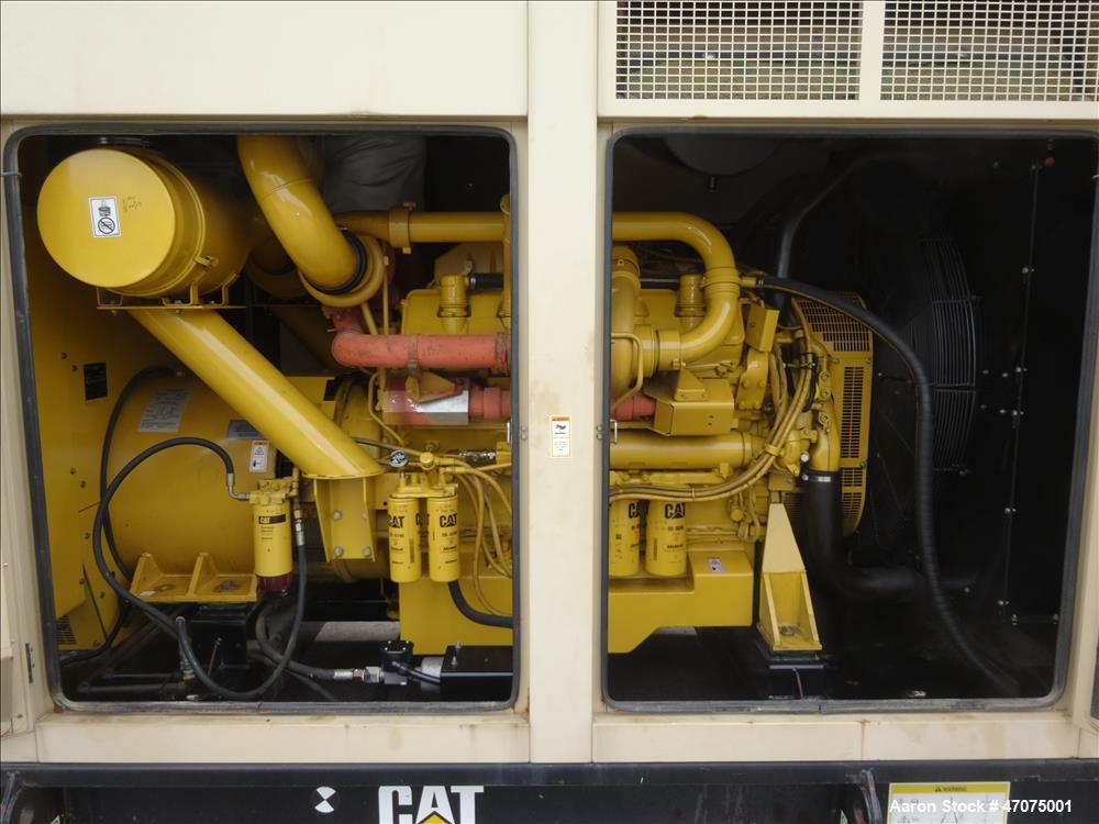 Used-CAT 3412 engine. Caterpillar 750 kW  diesel generator.