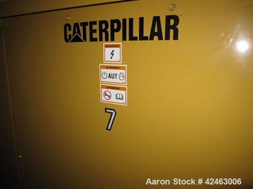 Used Caterpillar 2000 kW Standby / 1825 kW Prime Diesel Generator Set. CAT 3516 engine rated 2628 hp @ 1800 rpm, SN-1HZ00751...