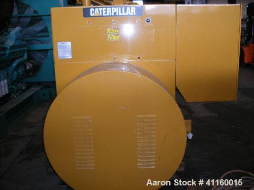 Unused-CAT 1900 kW Continuous Natural Gas Generator Set. Caterpillar G3520C engine rated 2671 HP @ 1800 RPM. 3/60/12470V CAT...