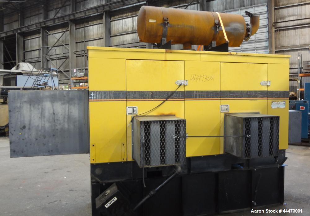 Used- Caterpillar / Olympian 200 kW Standby Diesel Generator Set, CAT model 3208 engine rated 299 hp @ 1800 rpm, serial #5YF...