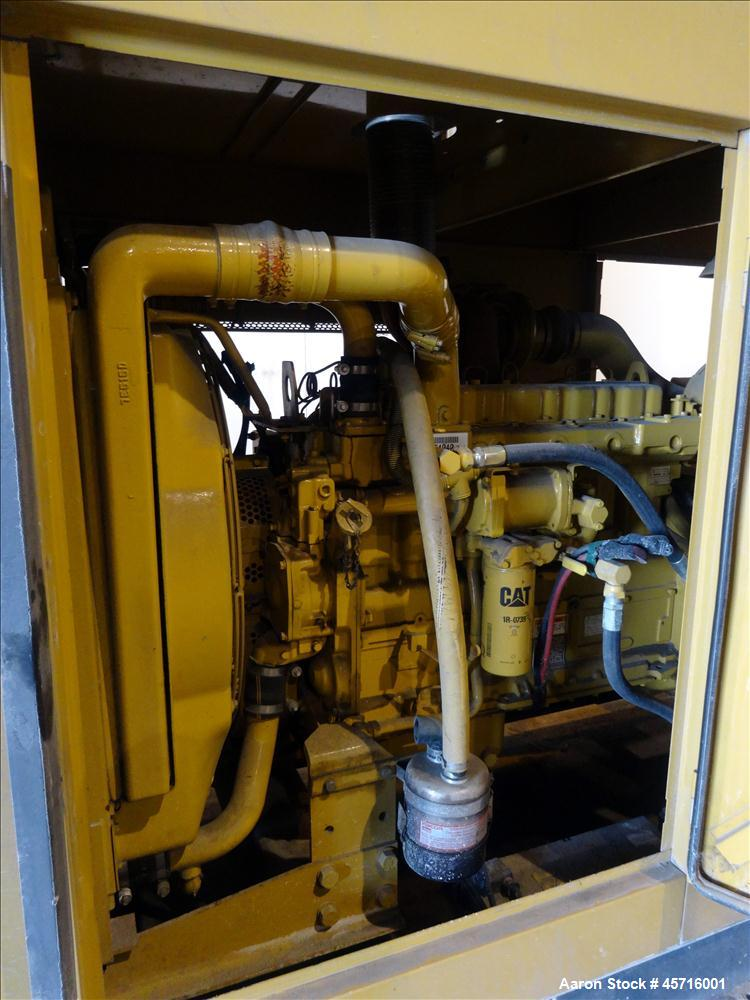 Used- Caterpillar 250 kW diesel generator set. CAT 3306 engine