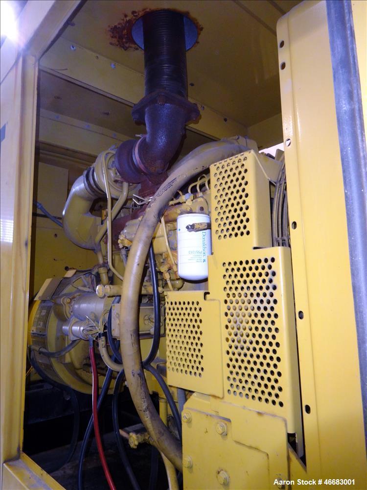 Used-Caterpillar 230 kW diesel generator. CAT 3306 engine SN-9NR01316