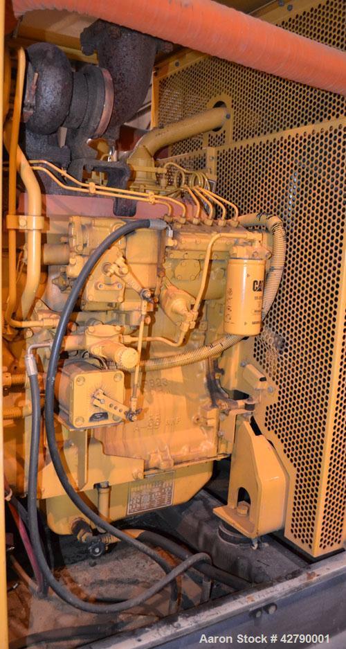 Used- CAT 250kW Diesel Generator Set. Caterpillar model 3306B engine rated 377 HP @ 1800 RPM, serial #2AJ01129. 3/60/277-480...