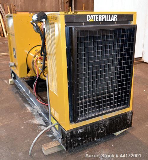 Used- Caterpillar 225kW standby diesel generator set. CAT model 3306B engine rated 335 HP @ 1800 RPM, SN-2AJ00527. 3/60/277/...