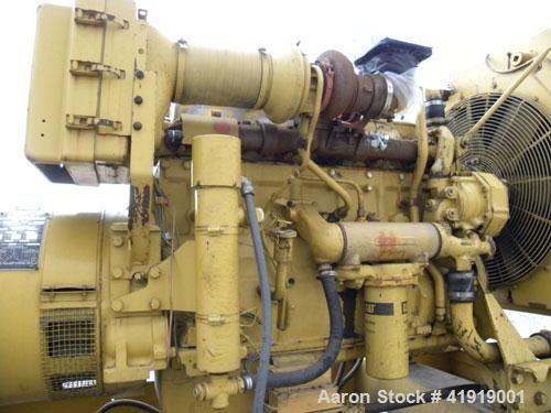 Used- CAT 250 kW standby rated diesel generator set. CAT 3406 engine SN-2WB01367 Arr#4W3812, rated 375 hp @ 1800 rpm. Cat mo...