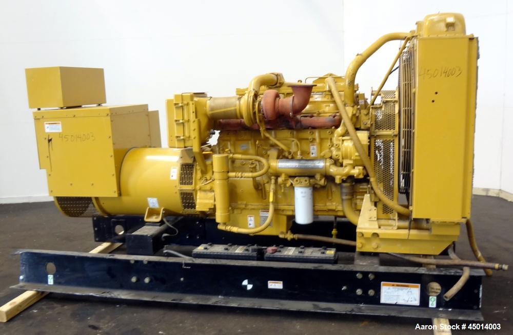 Used- Caterpillar 400 kW Standby Diesel Generator Set, CAT Model 3406