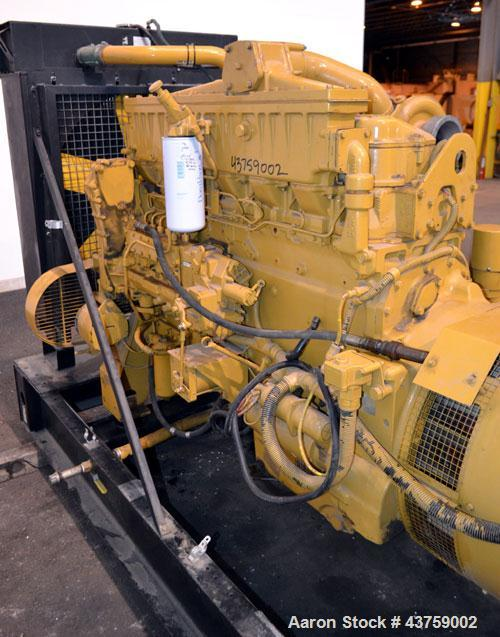 Used- Caterpillar 400 kW Standby Diesel Generator Set. CAT model 3406 engine rated 587 hp @ 1800 rpm, serial #4RG01804.  3/6...