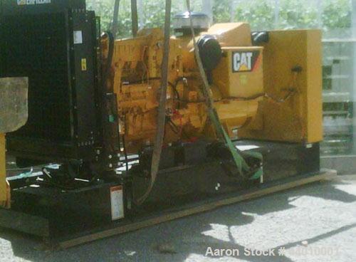 New-Caterpillar 400 kW standby diesel generator set. SN-C2Y02066. CAT 3406C engine rated 587 HP @ 1800 RPM, SN-1DZ21693. 3/6...