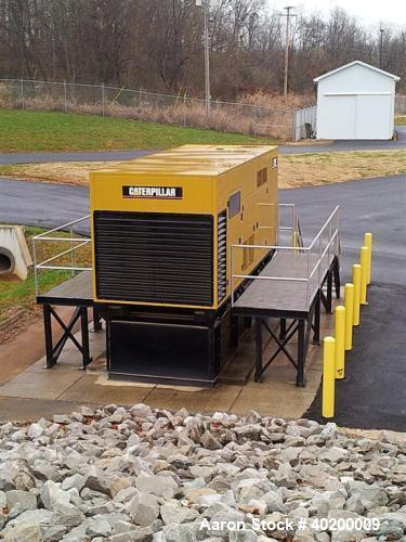 Used-Caterpillar 750 kW standby diesel generator set, SN-TFT00829. Cat 3412 engine rated 1114 HP @ 1800 RPM,SN-BLG03275. 3/6...