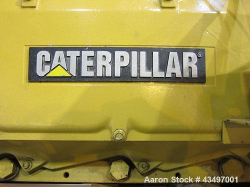 Used- CAT 500 kW Standby Diesel Generator Set. Caterpillar 3412 engine rated 749 HP @ 1800 RPM, SN-81Z20462. 3/60/480V. Cool...