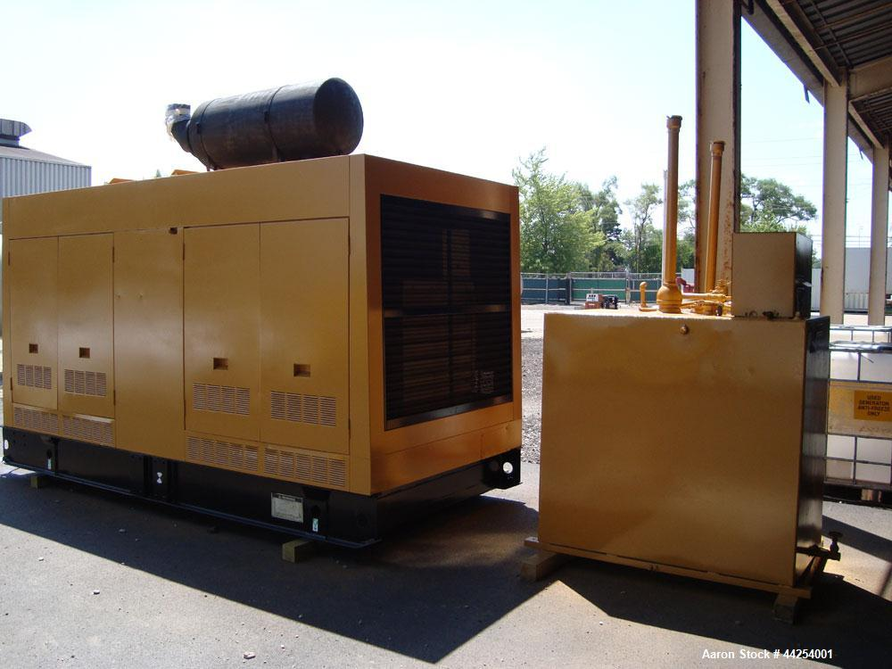 Used- Caterpillar 455kW Prime Rated Diesel Generator Set, Model SR-4 Generator