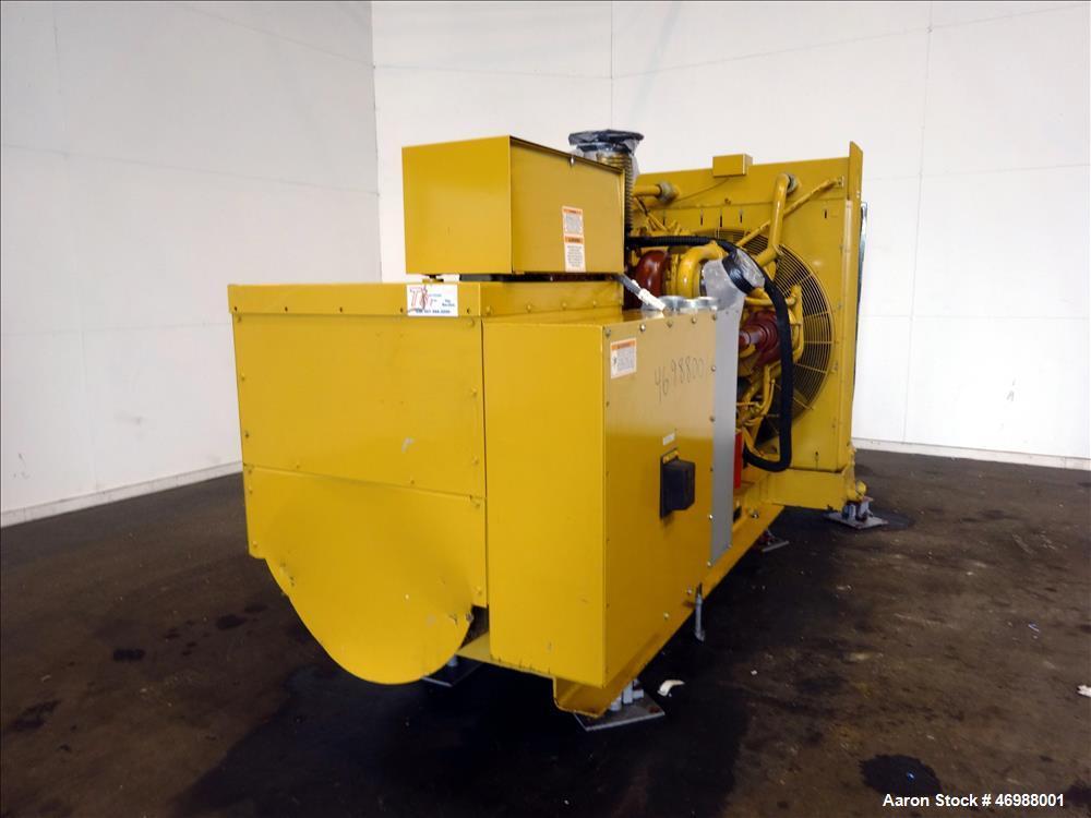 Used- Caterpillar 750 kW diesel generator set. CAT 3412 engine.