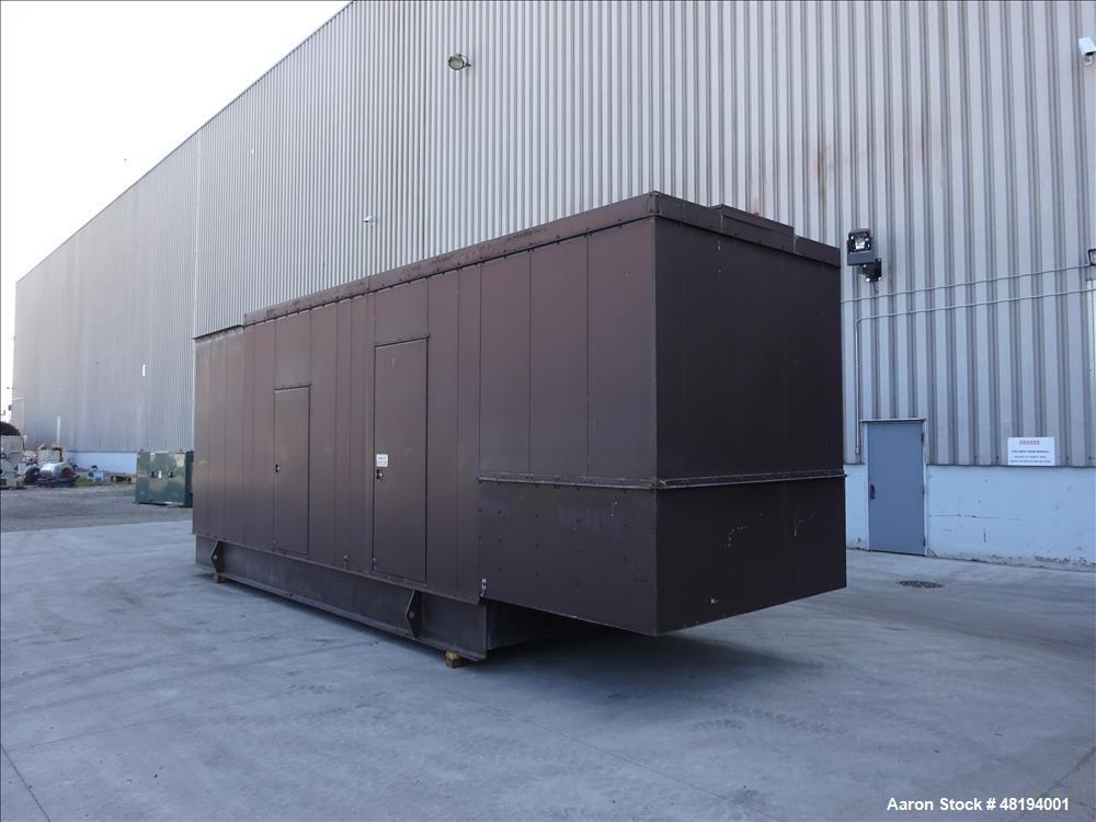 Used- Caterpillar 800 kW standby diesel generator set. CAT 3412 engine