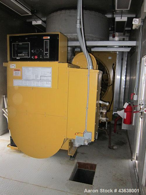 Used- Caterpillar 1000 kW Standby Diesel Generator Set. CAT 3508B engine rated 1489 hp @ 1800 rpm, SN-4GM00549. 3/60/480V. M...