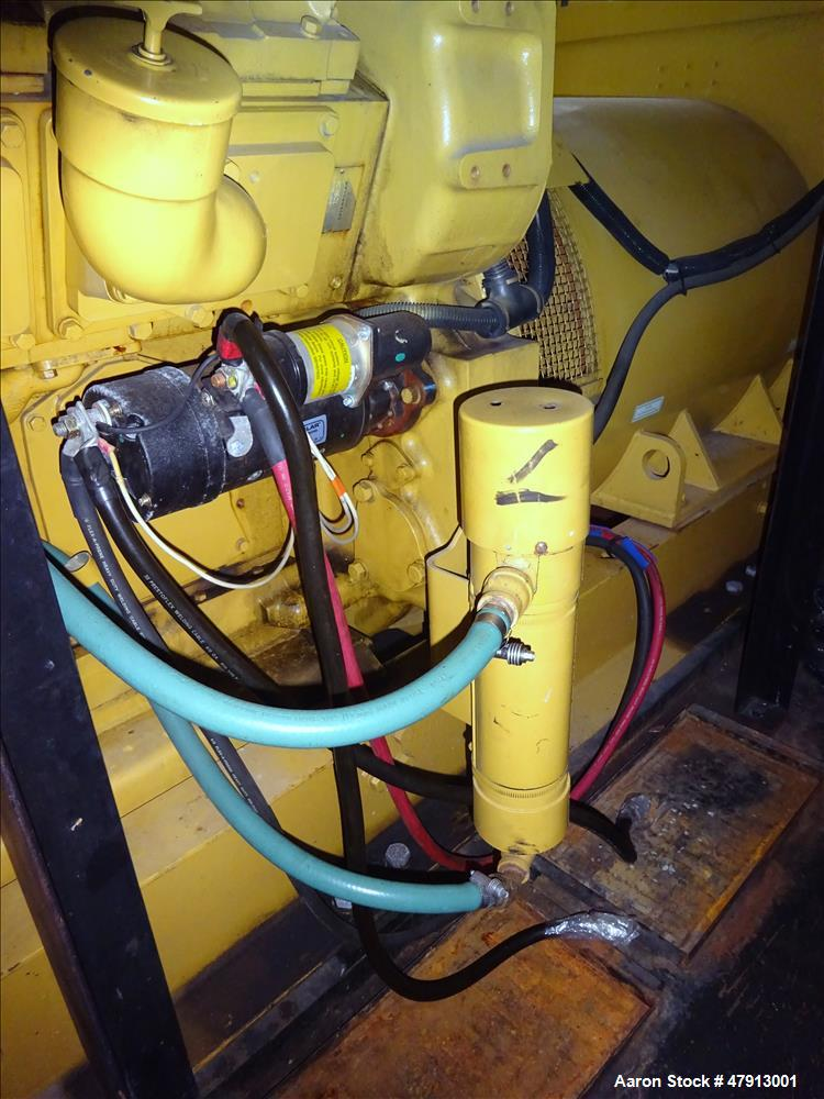 Used-Caterpillar 1000 kW diesel generator set. CAT 3508 engine