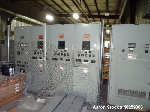 Used- CAT 1000 kW prime diesel generator set. Caterpillar 3512 engine