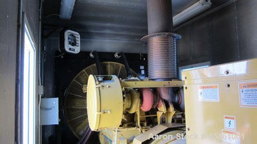 Used- Caterpillar 1250 kW Standby Diesel Generator Set. CAT 3512 engine rated 1818 HP at 1800 RPM, SN-1KZ00480. Package SN-C...