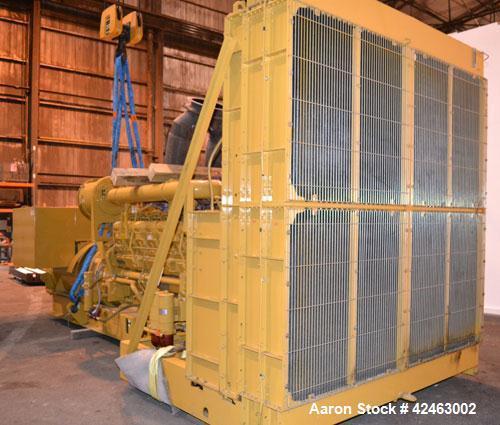 Used- CAT 2000 kW Standby Diesel Generator Set, CAT Model 3516B