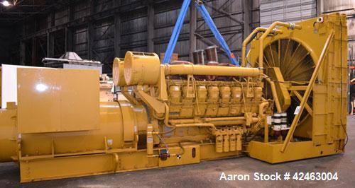 Used- Caterpillar 2000 kW Standby Diesel Generator Set, CAT Model 3516B