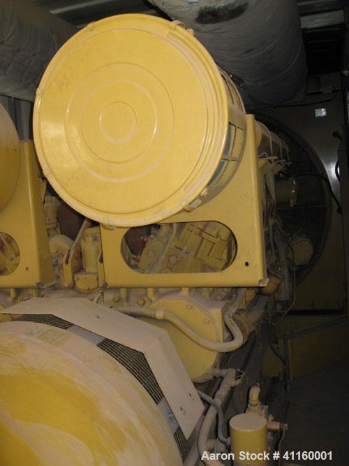 Used-Cat 1750 kW Power Module (1600 kW prime). Caterpillar model 3516 DITA diesel engine, arrangement #1077350, radiator coo...