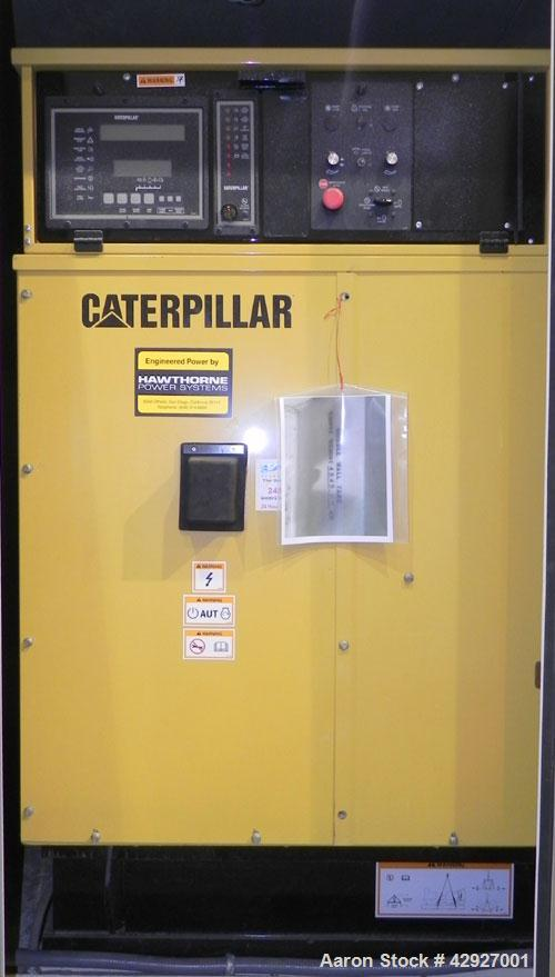Used- CAT 500kW diesel generator set. Caterpillar 3412 DITTA engine, serial #4RJ00640, rated 749 hp at 1800 rpm. 3/60/277/48...
