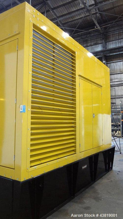 Caterpillar 500 kW diesel generator. CAT C-15 engine.