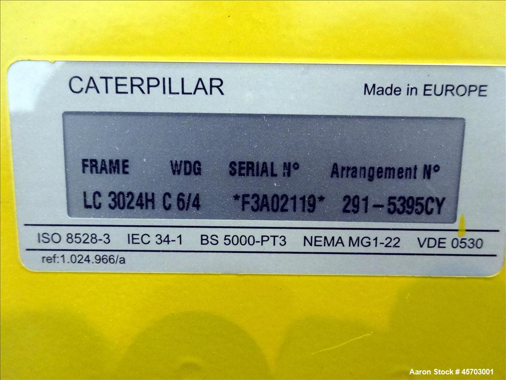 Used- Caterpillar 150 kW Standby (135 kW Prime) Diesel Generator Set, Model D150