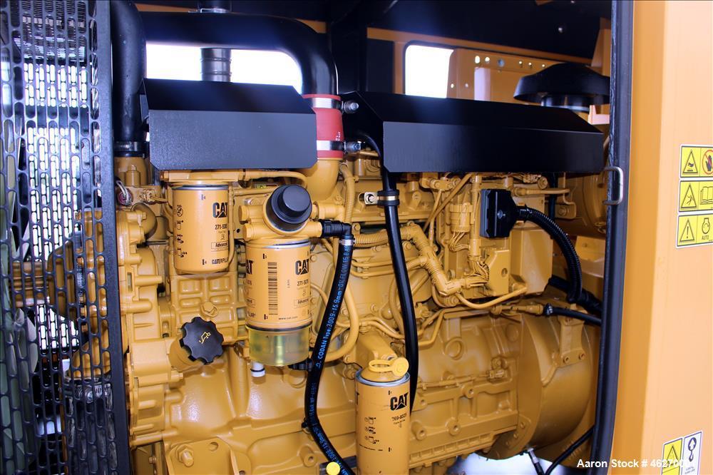 Used- Caterpillar 150 kW standby (135 kW prime) diesel generator set, model D-150-8, CAT00C66JN6D00269. CAT C6.6 engine rate...