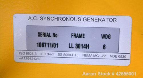 Used- Caterpillar / Olympian 150 kW diesel generator set. Olympian model D150P1, SN-F2469E/001. 3/60/277-480V. PMG (permanen...