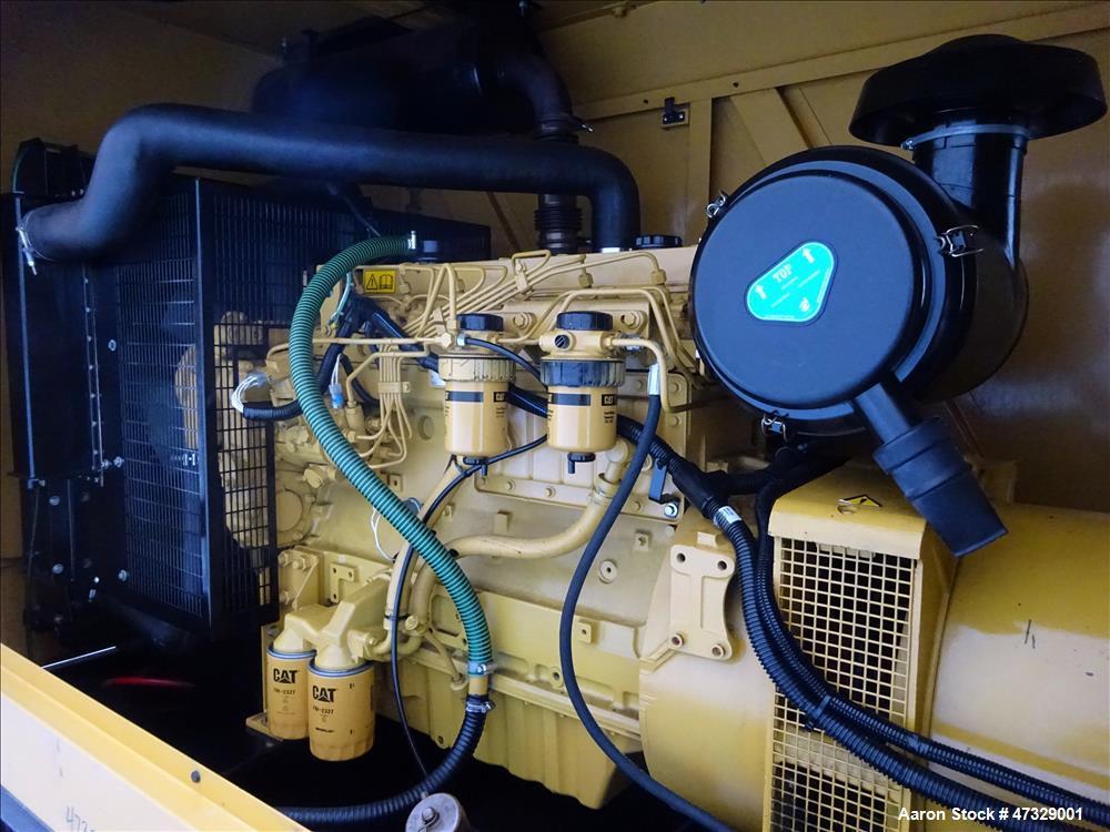 Used- Caterpillar / Olympian 150 kW standby diesel generator set, model D150P1,