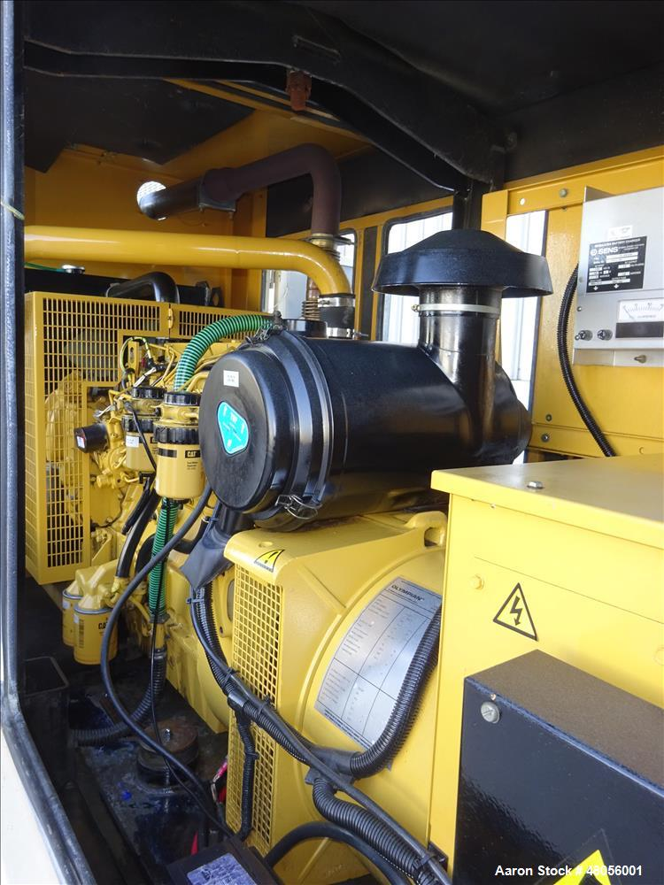 Used- Caterpillar / Olympian 150 kW diesel generator model D150P1. Perkins engin