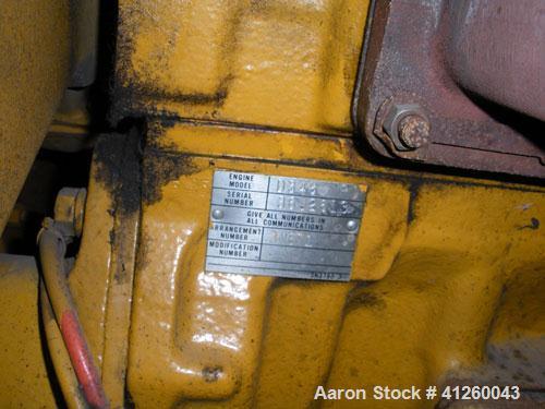 Used-Caterpillar 560 kW Diesel Generator Set. Cat D348 engine rated 755 hp. Brown Boveri generator end 3/60/277/480V. (Note:...