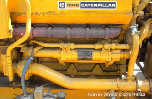 Used- CAT 500 kW Diesel Generator Set. Caterpillar model D348 engine, serial #36J1381, rated 805 hp @ 1800 rpm. Generator En...