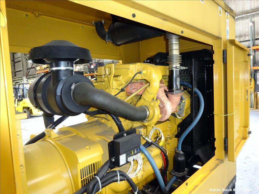 Used- Caterpillar / Olympian 75 kW   generator, model D75P3,  Perkins engine