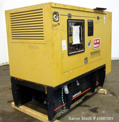 Used- CAT / Olympian 75 kW Standby Diesel Generator Set, Model D75P1