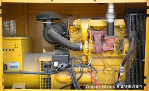 Used- Cat/Olympian 60kW Standby Diesel Generator Set. Model D60P3_1, Serial# -OLY00000-VNPF02689. Perkins 4 cylinder diesel ...