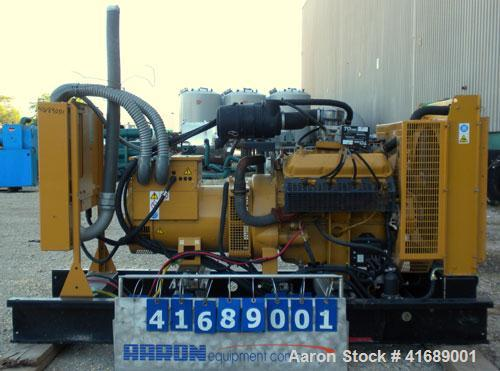 Used- CAT/Olympian 60 kW Natural Gas Generator Set, Model G60F1, Serial #E0519A/001. Ford Motor Co natural gas engine, model...