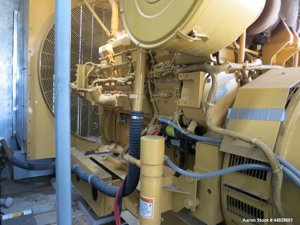Used- CAT 900 kW Standby Diesel Generator Set