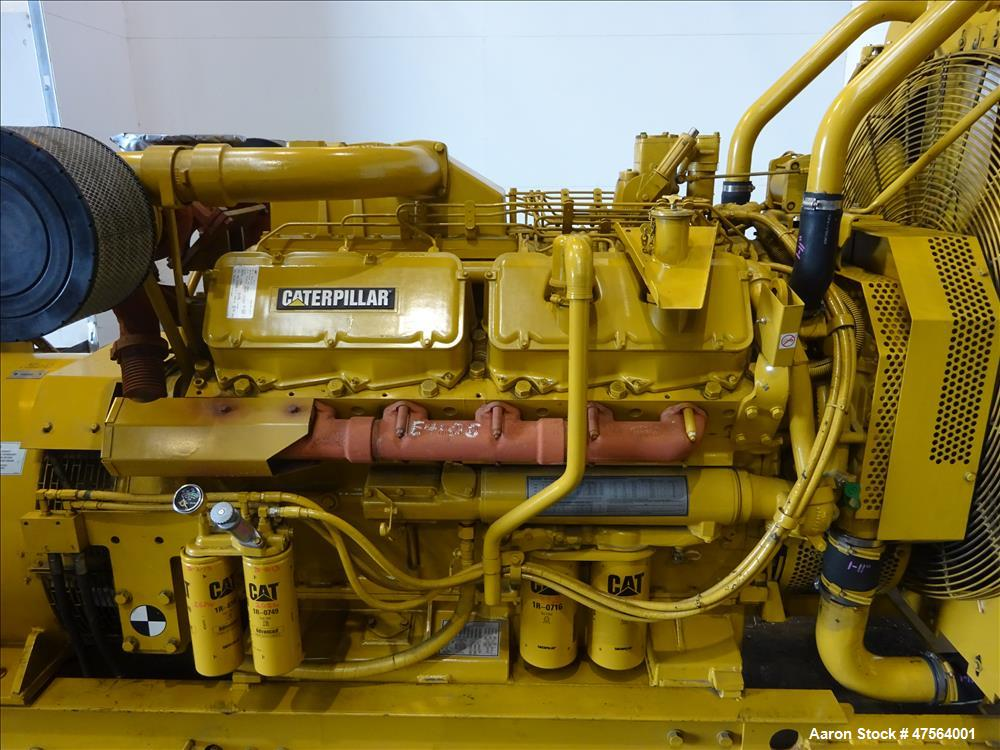 Used- CAT 600 kW standby diesel generator set. Caterpillar 3412 engine