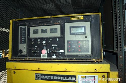 Used- Caterpillar 600 kW diesel generator set. CAT model 3412 engine rated 890 HP @ 1800 RPM, SN-81Z07706. 3/60/480V. Gen en...
