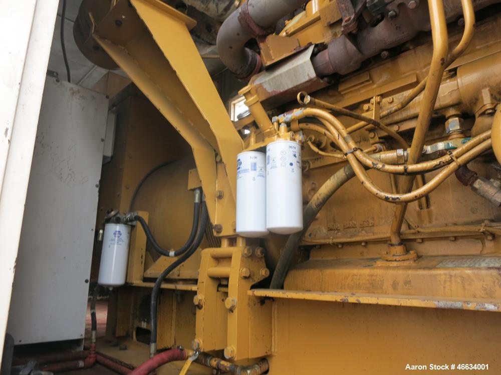 Used- Caterpillar Standby Portable / Trailered Diesel Generator Set.