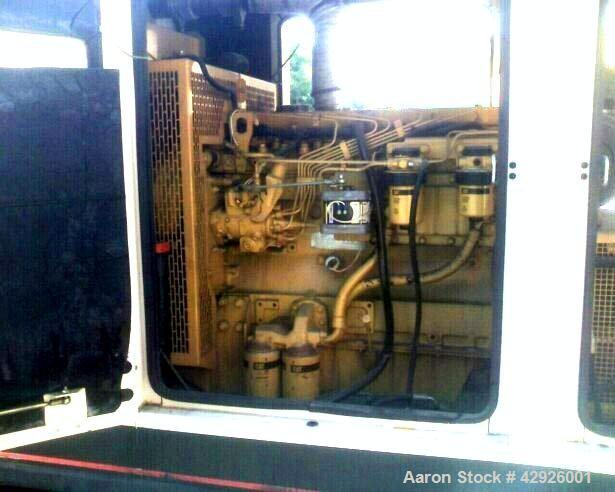Used-Caterpillar 105 kW Diesel Generator Set, CAT XQ105 package, Perkins engine, fully encolsed sound attenuated enclosure m...