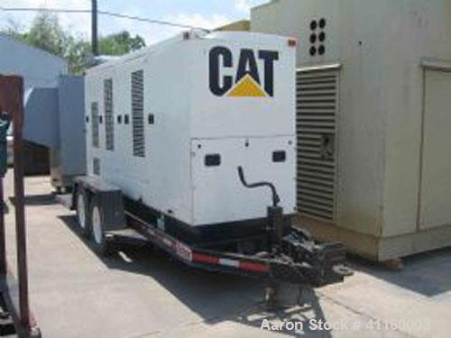 Used-Cat XQ225 Diesel Generator Set. Cat model 3306 engine. Cat model SR4 alternator, 3/60/277/480V, 225 kW, 281.25 kva, 338...