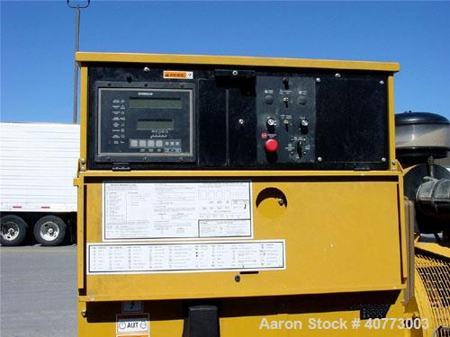 Used-Cat 365 kW prime power rating diesel generator set. EPA Tier 2. 3/60/277-480V. Cat model 3456 DITA engine. 800 amp main...