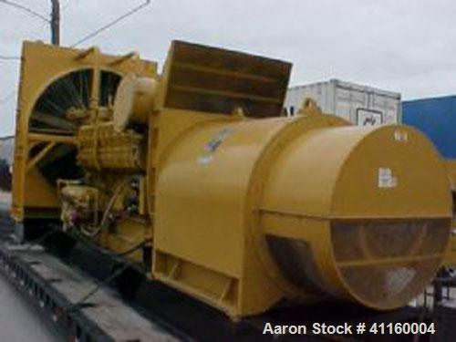 Used-Caterpillar 1500 kW Continuous Rated Diesel Generator Set. Cat model 3516 DITA engine, Katomodel A241980000 generator e...