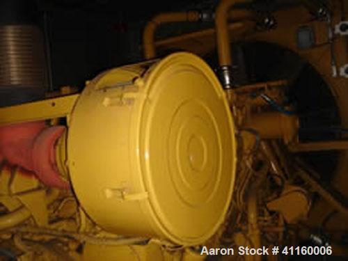 Used-Cat 1000 kW Diesel Generator Set. Cat 3508B engine. Cat SR4B alternator, 3/60/277-480V, 1800 rpm, 1504 amps, 0.8 pf, 12...