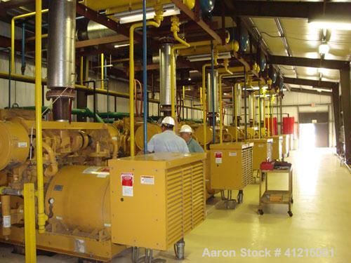 Commission due to Aaron Equipment on Power Plant consisting of (6) CAT G3516 low emmission natural gas fueled generator sets...