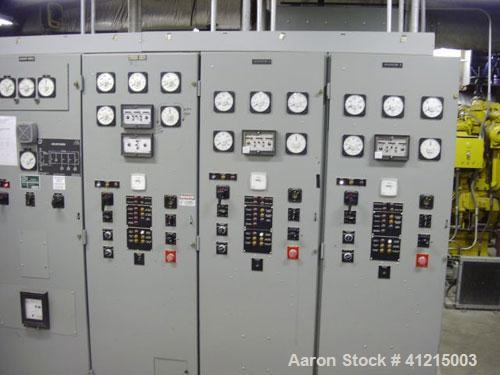 Used-Diesel Generator Packagte consisting of two (2) Caterpillar 3512 engines and one (1) 3516. Generator sizes are 1500, 10...